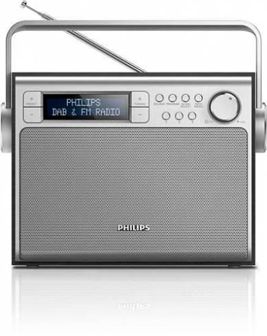 Philips портативно радио ретро дизайн