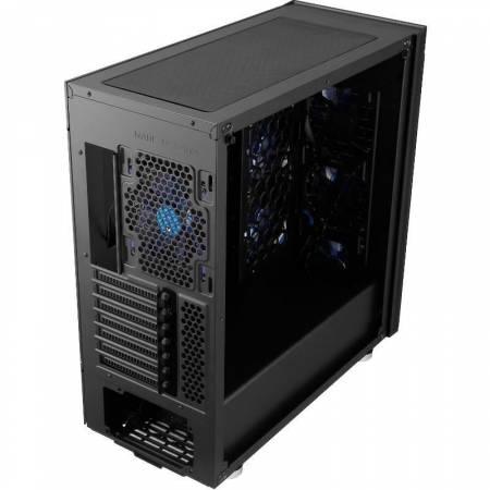 Комплект кутия за настолен компютър Segotep SG-K8 + захранване GP700G 600W 80+ GOLD