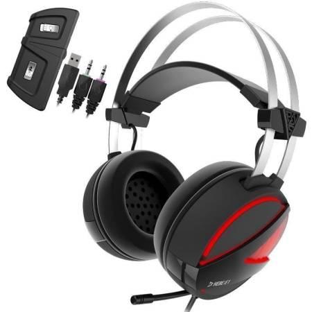 RGB геймърски слушалки Gamdias Hebe E1 HEBE-E1