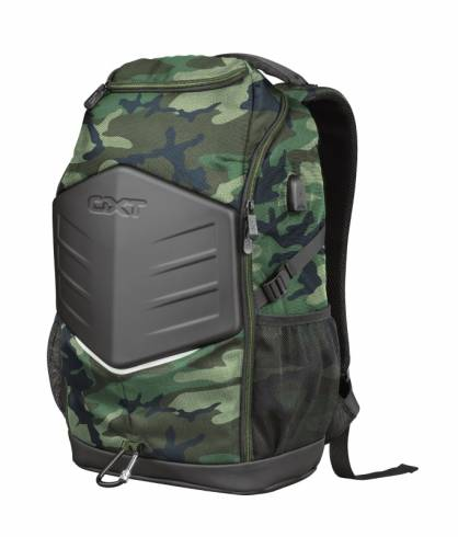 """TRUST GXT 1255 Outlaw 15.6"""" Gaming Backpack - camo"""