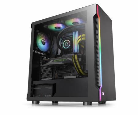 Кутия за настолен компютър Thermaltake H200 RGB CA-1M3-00M1WN-00