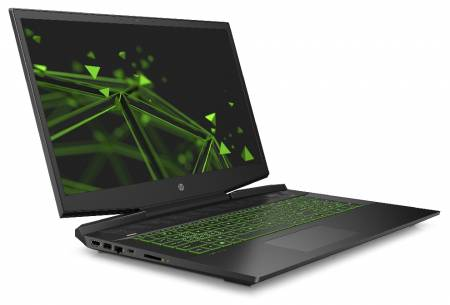 HP Pavilion 17-cd0016nu Black with Acid green