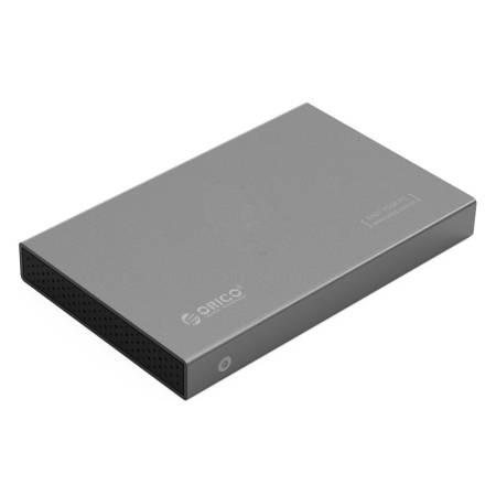 """Алуминиева кутийка за 2.5"""" HDD/SSD дискове Orico 2518S3-GY"""