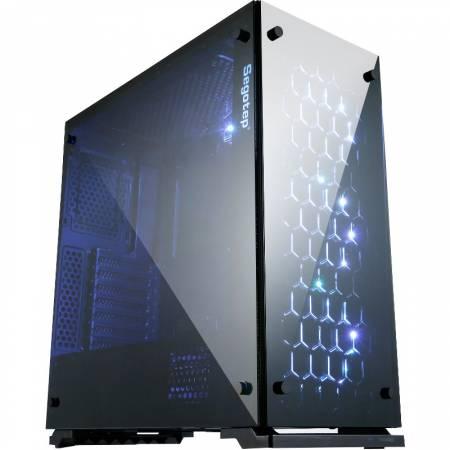 Кутия за настолен компютър Segotep K7 ATX mid tower черна