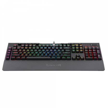 Механична RGB геймърска клавиатура Redragon Brahma K586RGB-BK