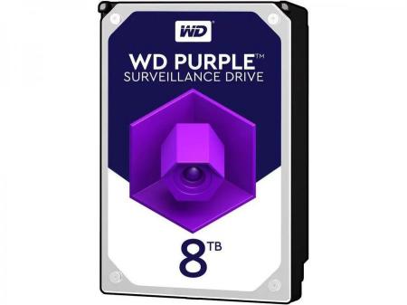 Твърд диск WD Purple 8TB 256MB SATA 6.0Gb/s WD82PURZ