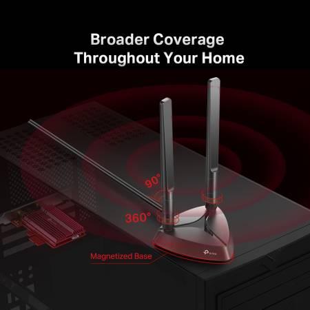 Bluetooth 5.0 PCIe адптер TP-Link Archer TX3000E Wi-Fi 6