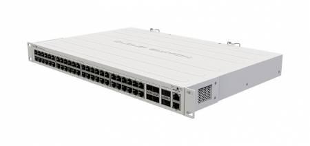 Комутатор Mikrotik CRS354-48G-4S+2Q+RM 48-gigabit порта 4-SFP+ порта