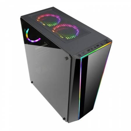 Кутия за настолен компютър Redragon Black Tailgate GC-702-BK ATX mid tower