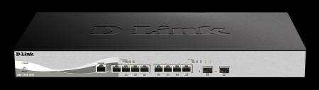 8-портов smart управляем комутатор D-link DXS-1210-10TS