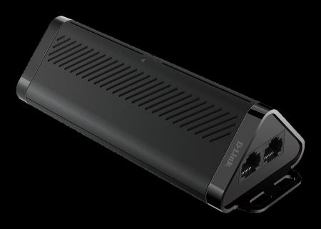 Двупортов Gigabit PoE Extender D-Link DPE-302GE