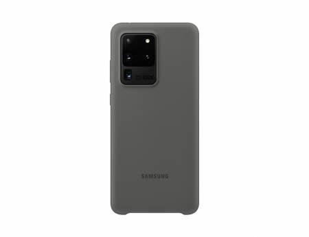 Samsung Galaxy S20 Ultra Silicone Cover Gray