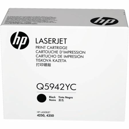 HP LaserJet Q5942A Black Print Cartridge with Smart Printing Technology
