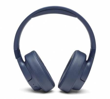 JBL T750BT NC BLUE HEADPHONES