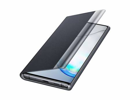 Samsung Note 10 Clear View Cover Black