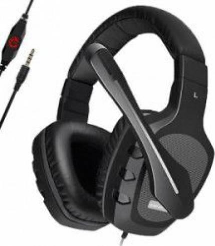 Геймърски слушалки с микрофон Somic Senicc A1-BK