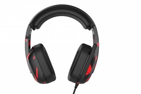 Геймърски слушалки с микрофон Somic G909JD Black/Red
