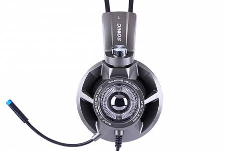 Геймърски слушалки Somic G955 Grey Headset