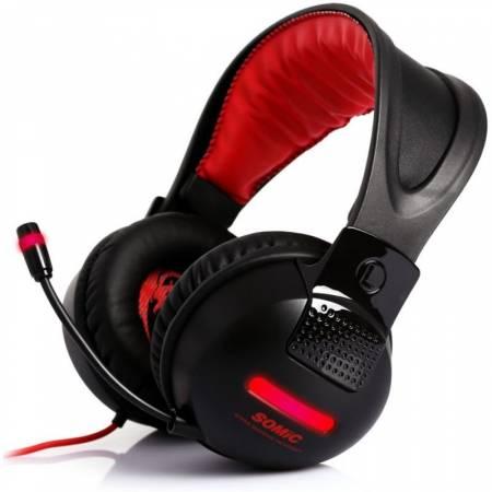 Геймърски слушалки с микрофон Somic G956 7.1 surround