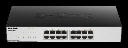 16‑Портов Gigabit Easy Desktop комутатор D-Link GO-SW-16G/E