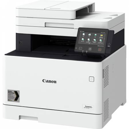 Canon i-SENSYS MF744Cdw Printer/Scanner/Copier/Fax + Canon CRG-055H BK