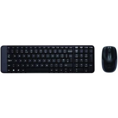 Безжичен комплект мишка и клавиатура Logitech MK220 920-003168 БДС