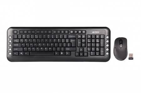 Безжичен комплект мишка и клавиатура A4tech 7200N A4-KEY-7200N