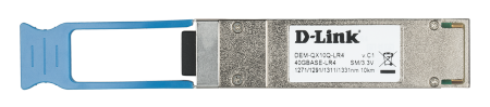 QSFP трансивър с 1 порт 40GBase-LR4 D-Link DEM-QX10Q-LR4