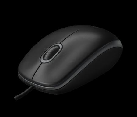 Оптична USB мишка Logitech B100 Black 910-003357