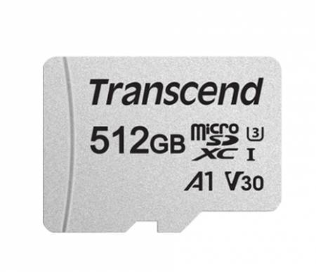 Transcend 512GB microSD UHS-I U3 A1 (with adapter)