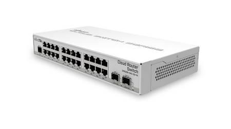 26-портов комутатор MikroTik CRS326-24G-2S+IN