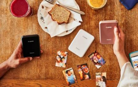Canon Zoemini mini photo printer PV 123