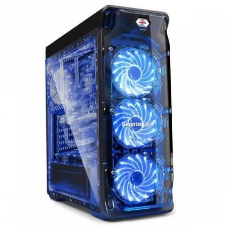 Кутия за настолен компютър Segotep LUX II V2 SG-L3B ATX Mid Tower
