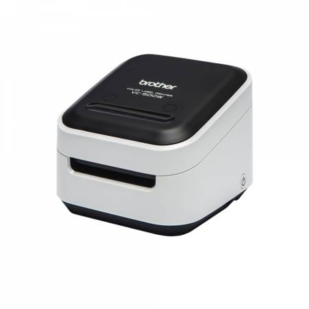 Brother VC-500W Label Printer + Brother Continuous Paper Tape (Full colour