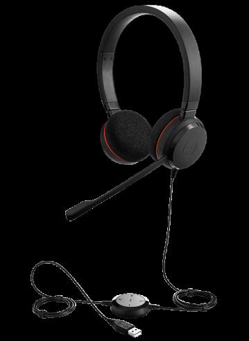 Стерео слушалки с микрофон Jabra Evolve 20 4999-823-109