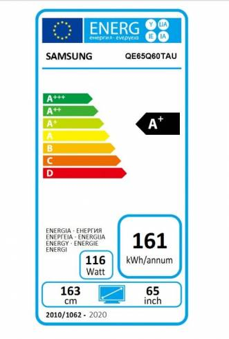 "Samsung 65"" 65Q60T QLED FLAT"