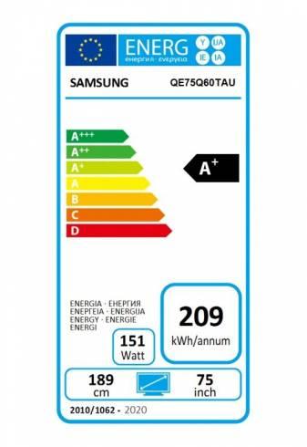 "Samsung 75"" 75Q60T QLED FLAT"