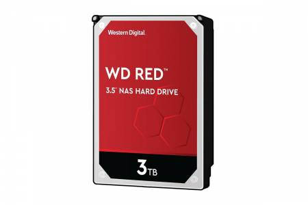 HDD 3TB SATAIII WD Red 256MB for NAS (3 years warranty)