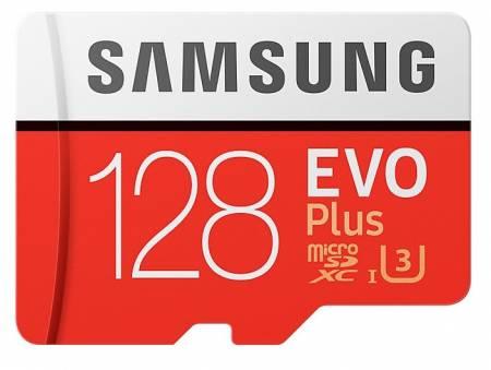 Samsung 128GB micro SD Card EVO+ with Adapter