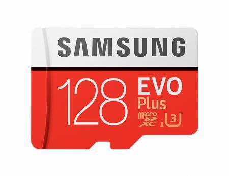 Samsung MicroSD card EVO+ series with Adapter