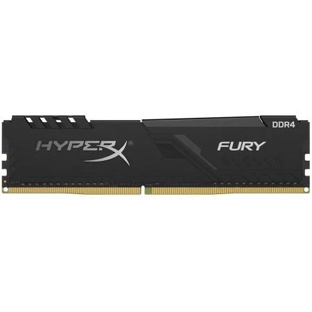 Памет Kingston 8GB (1 x 8GB) 2666MHz DDR4 CL16 DIMM 1Rx8 HyperX FURY Black 1.2V XMP