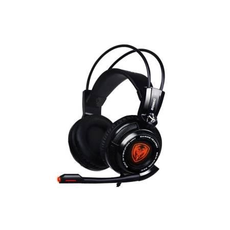 Геймърски слушалки с микрофон Somic G941 черни G941-BK