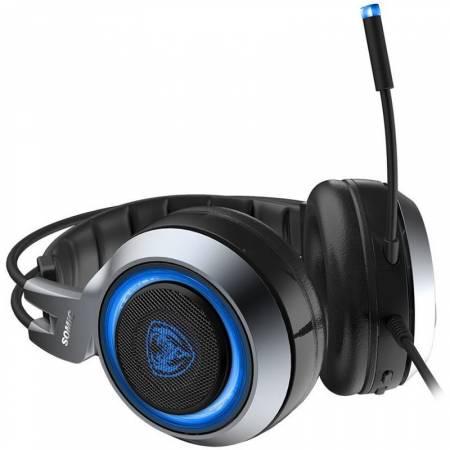 Геймърски слушалки с микрофон Somic G951