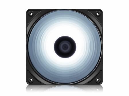 Охладител за кутия DeepCool RF120W 120 mm бял LED