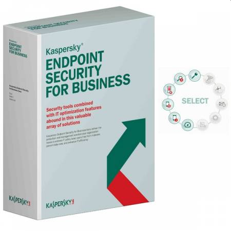 Kaspersky Endpoint Security for Business - Select Eastern Europe Edition. 5-9 Node 1 year Base License