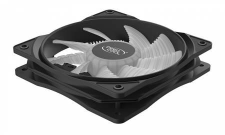 Охладител за кутия DeepCool RF120WR 120 mm червен LED
