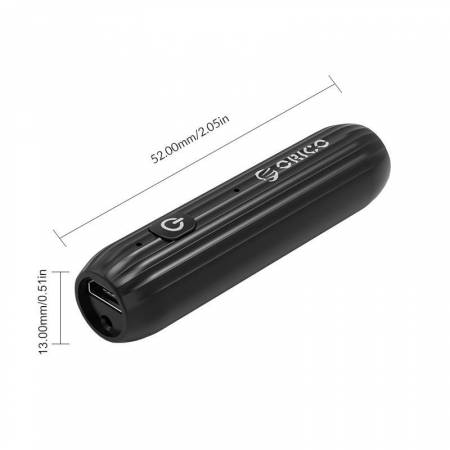 Bluetooth адаптер Orico BTA-502-BK