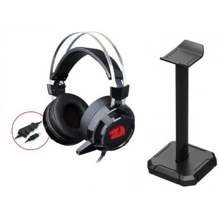 Геймърски слушалки със стойка Redragon Siren 2 H301USB-1-BK