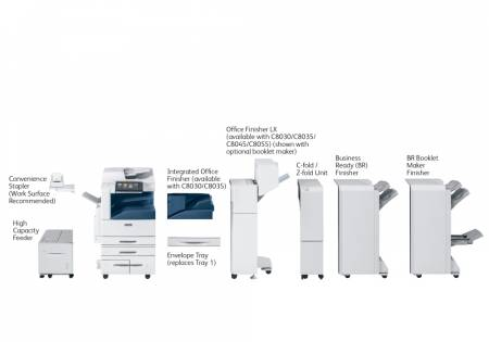 Xerox AltaLink C8035 with 3-Tray Module (3x520 sheets)