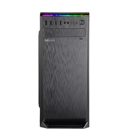 Кутия за настолен компютър Delux C710 ATX